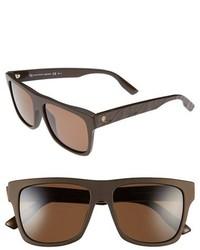 Gafas de sol en marrón oscuro de McQ