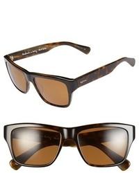 Gafas de sol en marrón oscuro de Paul Smith