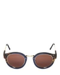 Gafas de sol en marrón oscuro de Super