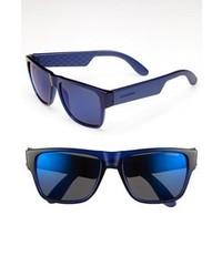 Gafas de sol en negro y azul de Carrera Eyewear