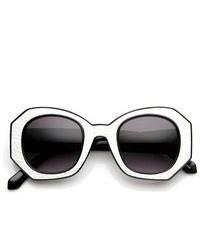 Gafas de sol en negro y blanco
