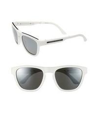 Gafas de sol en negro y blanco de AX Armani Exchange