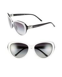 Gafas de sol en negro y blanco de BVLGARI