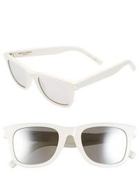 Gafas de sol en negro y blanco de Saint Laurent