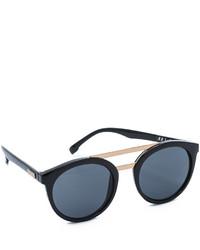 Gafas de sol en negro y dorado de Le Specs