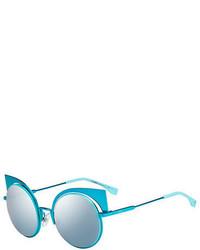 Gafas de Sol en Turquesa de Fendi