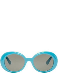 Gafas de sol en turquesa de Saint Laurent