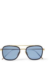Gafas de sol en turquesa de Thom Browne