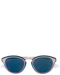 Gafas de sol en verde azulado de Christian Dior