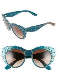 Gafas de sol en verde azulado de Dolce & Gabbana