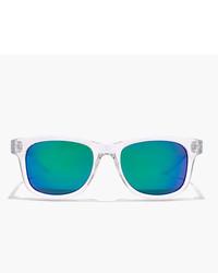 Gafas de sol en verde azulado de J.Crew