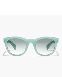 Gafas de sol en verde menta de J.Crew
