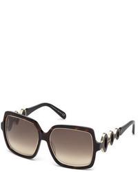 Gafas de sol grises de Emilio Pucci