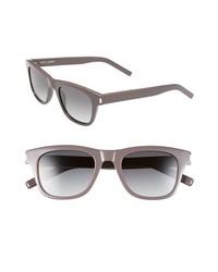 Gafas de sol grises de Saint Laurent