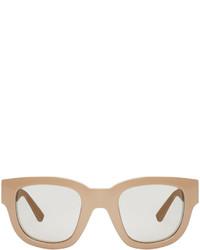 Gafas de sol marrón claro de Acne Studios