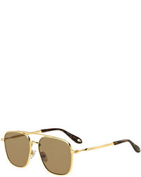Gafas de sol marrón claro de Givenchy