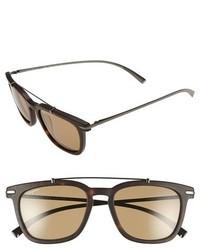 Gafas de sol marrón claro de Salvatore Ferragamo