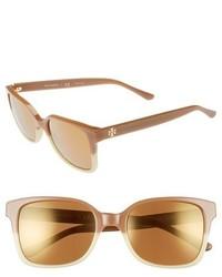 Gafas de sol marrón claro de Tory Burch