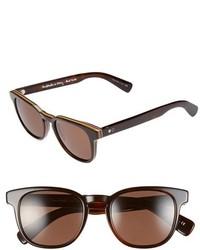 Gafas de Sol Marrón Oscuro de Paul Smith