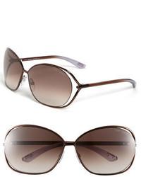 Gafas de Sol Marrón Oscuro de Tom Ford