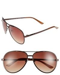 Gafas de sol marrónes de BCBGMAXAZRIA