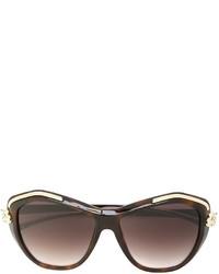 Gafas de sol marrónes de Cartier