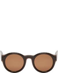 Gafas de sol marrónes de Maison Margiela