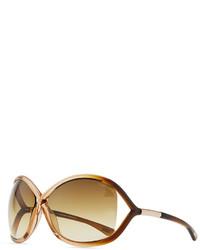 Gafas de sol marrónes de Tom Ford