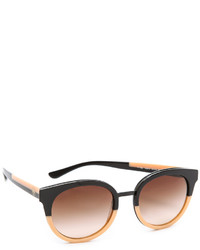 Gafas de sol marrónes de Tory Burch