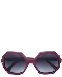 Gafas de sol morado oscuro de Oliver Goldsmith