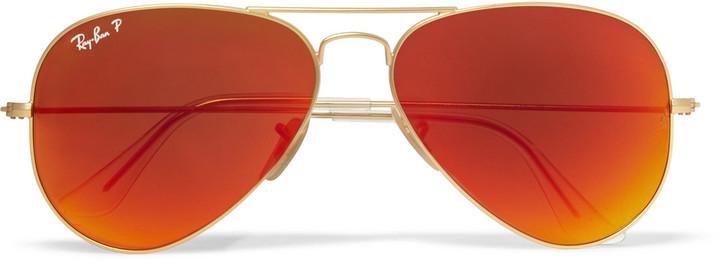 gafas ray ban naranjas