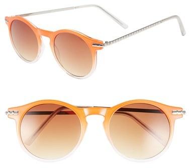 64f913c159 Gafas de sol naranjas, $34 | Nordstrom | Lookastic Estados Unidos