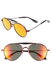 Gafas de sol naranjas de Givenchy