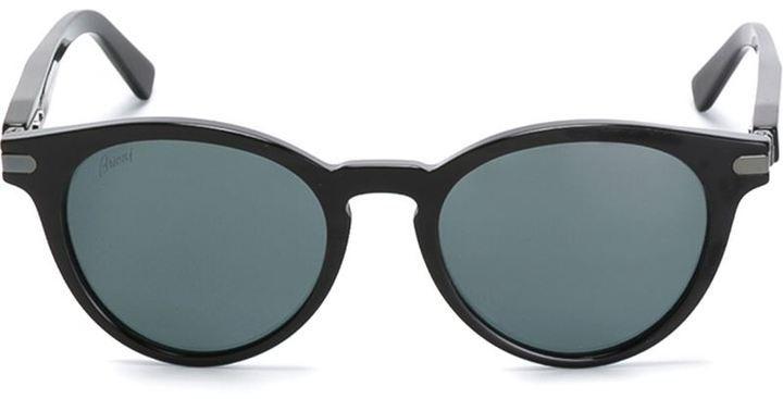 Gafas de sol negras de Brioni