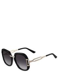 Gafas de sol negras de Etro