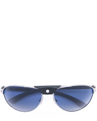 Gafas de sol plateadas de Cartier