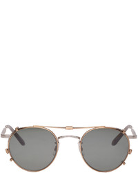 Gafas de sol plateadas de Garrett Leight