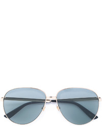 Gafas de sol plateadas de Gucci