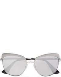 Gafas de sol plateadas de Prada