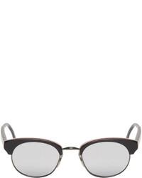 Gafas de sol plateadas de Thom Browne