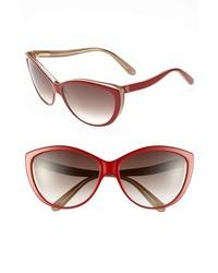 Gafas de sol rojas de Alexander McQueen