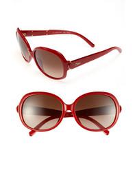 Gafas de sol rojas de Chloé