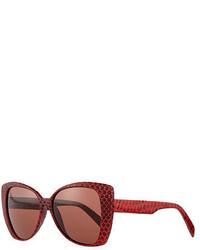 Gafas de sol rojas de Italia Independent