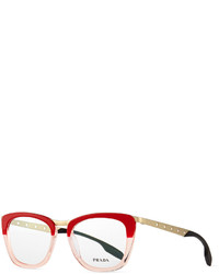 Gafas de sol rojas de Prada
