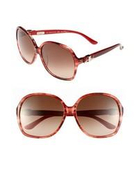 Gafas de sol rojas de Salvatore Ferragamo