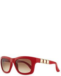 Gafas de sol rojas de Valentino