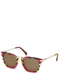 Gafas de sol rosa de Emilio Pucci