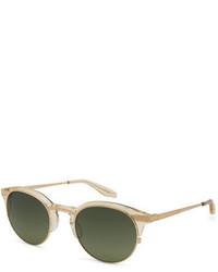 Gafas de sol verde oliva de Barton Perreira