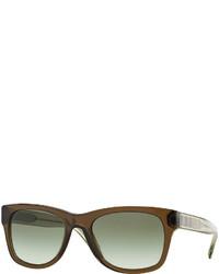 Gafas de sol verde oliva de Burberry