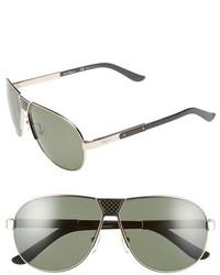Gafas de sol verde oliva de Salvatore Ferragamo